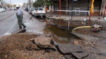 El EPAS le reclama a Pechi más de un millón de pesos por roturas que ocasionó la Muni