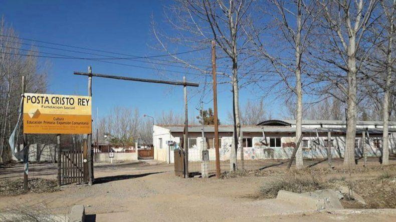 La escuela rural Posta Cristo Rey sin clases por falta de auxiliares