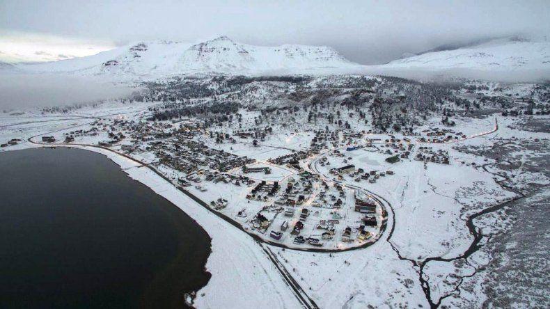 La nieve cubrió gran parte de la cordillera neuquina