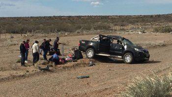 Cinco heridos en un triple choque cerca de Arroyito