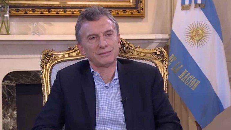 Macri vinculó el efecto cuadernos con la recesión