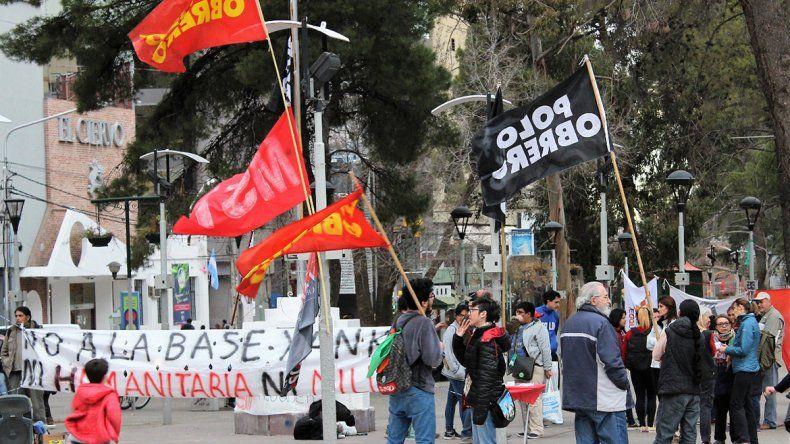 Pitrola se sumará a la marcha contra la base norteamericana en Neuquén