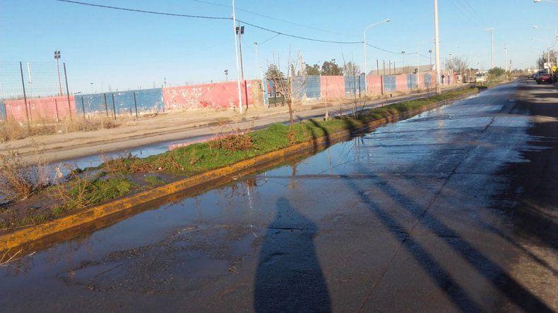 Aguas servidas en la habitación: vecinos de San Lorenzo reclaman por desborde cloacal