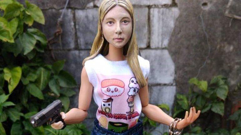 Polémica: la muñeca que homenajea a Nahir Galarza