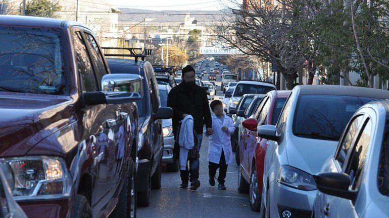 La mitad de los escolares, bochados como peatones