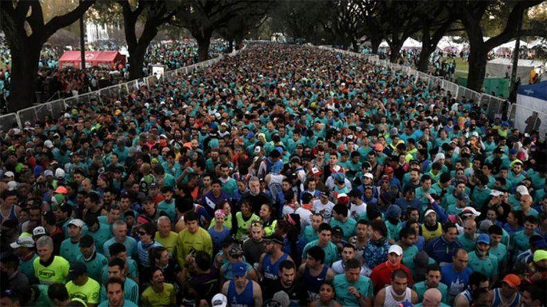 Murió un corredor en la media maratón de Buenos Aires