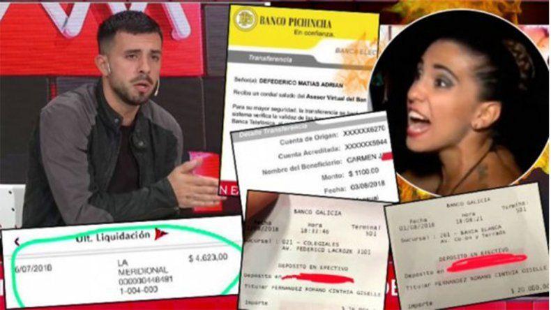 Infidelidad y niñera en dólares, el escándalo entre Defederico y Cinthia Fernández