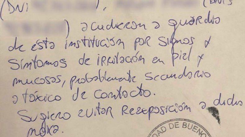 El abogado aseguró que una empleada doméstica se intoxicó en Recoleta.