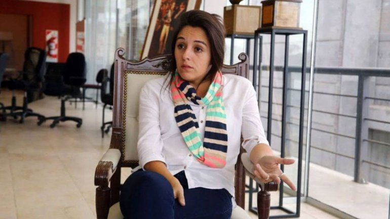 Rodríguez Saá decidirá si acepta la dimisión de Natalia Spinuzza.