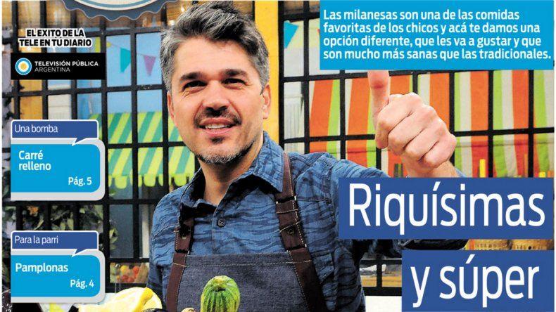 Cocineros Argentinos te enseña a hacer milanesas riquísimas y súper saludables