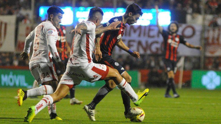 San Lorenzo aún no sumó de a tres en la Superliga.