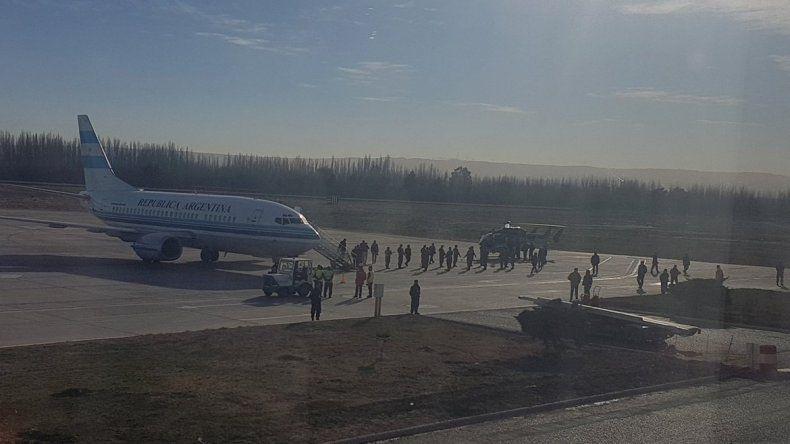 Macri llegó a Neuquén y ya recorre Vaca Muerta