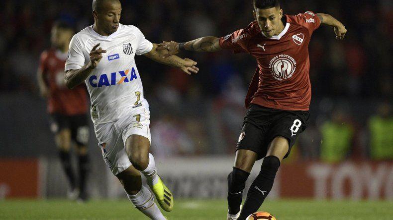 Conmebol le dio por ganado el partido al Rojo sobre Santos