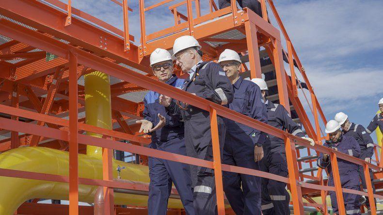 Macri inauguró la planta de gas de Tecpetrol en Vaca Muerta