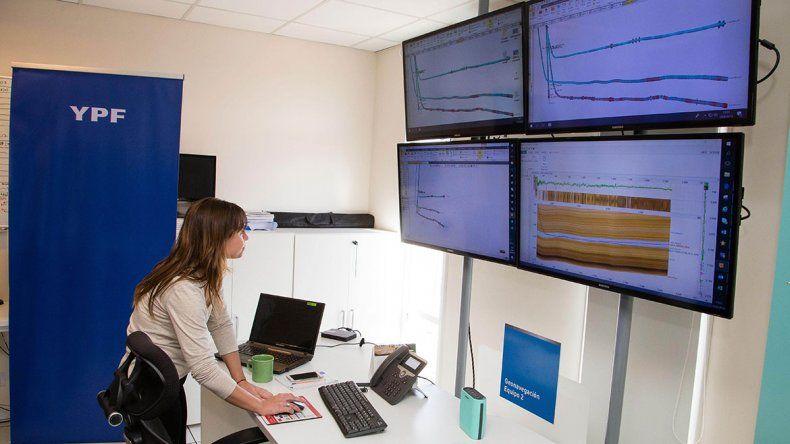 Precisión: YPF  pone  toda la tecnología en  pozos horizontales