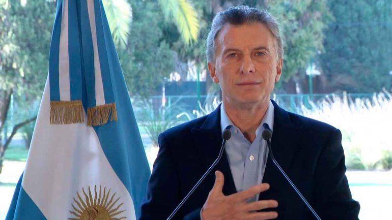 Macri: Voy a seguir hasta el final por ustedes