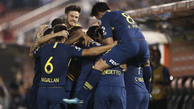 Boca ganó en Asunción y pasó a los cuartos: venció 4-2 a Libertad