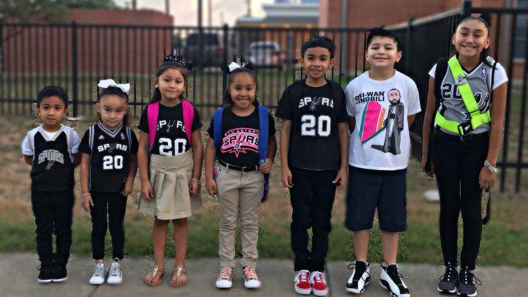 Los niños y toda la ciudad