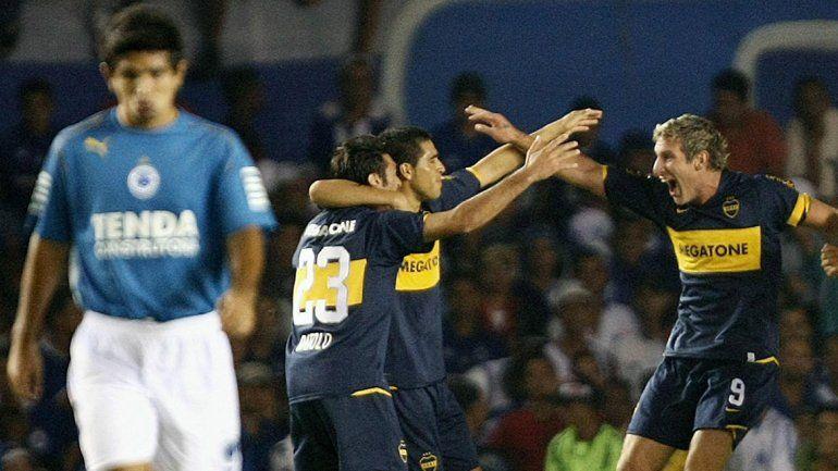 Boca-Cruzeiro, octavos del 2008: ganó el Xeneize. ¿Se repetirá?
