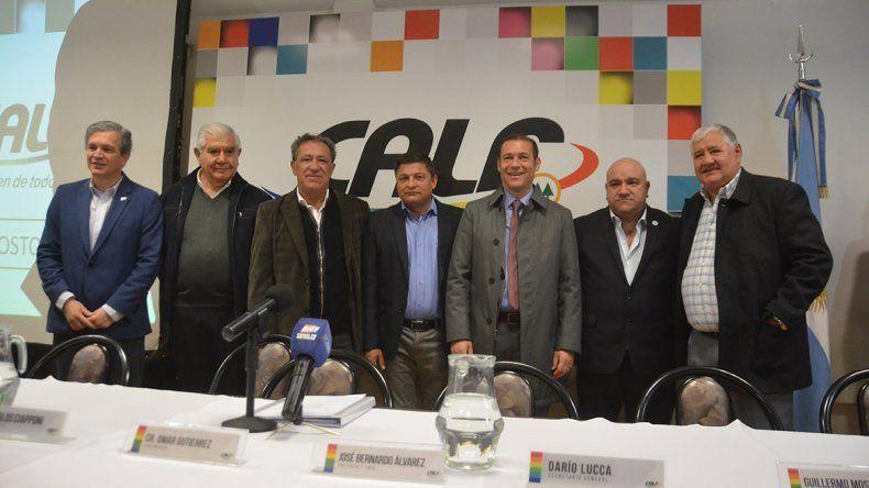Gutiérrez destacó el aporte de CALF y pidió más diversificación energética