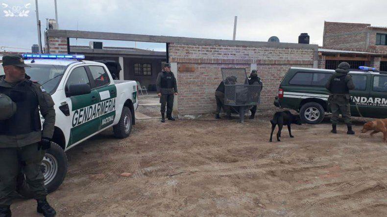 Gendamería desbarató en Salta una banda narco con vínculos neuquinos