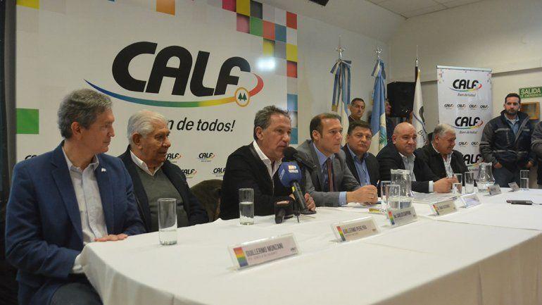 CALF: meten presión por el contrato de concesión