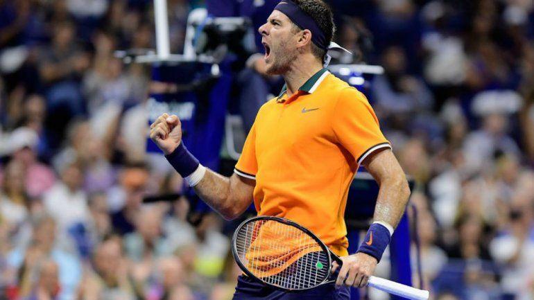 Del Potro venció a Verdasco y se metió en octavos del US Open