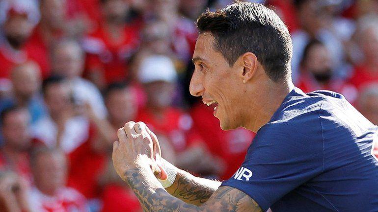 Di María deslumbró con un golazo olímpico en nuevo triunfo del PSG
