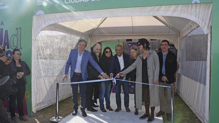 Quiroga: Tenemos dos mil metros cuadrados de cultura