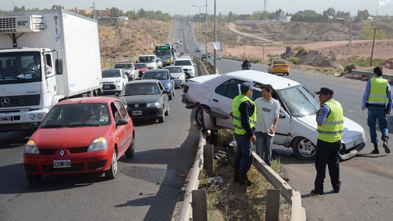 La Ruta 7 es el sitio con más accidentes viales de la ciudad