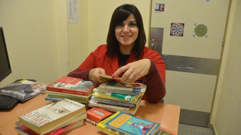 Junta libros para los pacientes  de salud mental