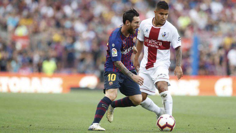 Goleada blaugrana: Barcelona le ganó 8 a 2 al recién ascendido Huesca