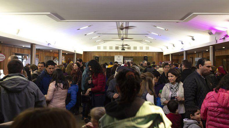 Más de 4 mil personas disfrutaron de la Fiesta del Chocolate Neuquino