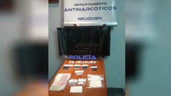 Desbaratan un kiosco narco: una pareja fue detenida