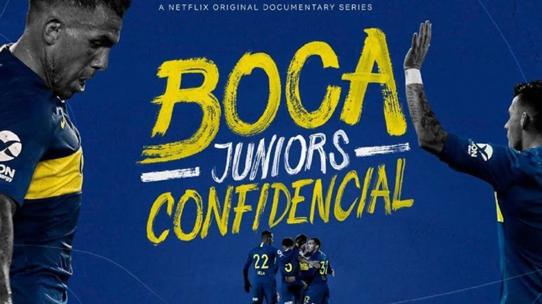 Mirá el trailer del documental de Boca en Netflix