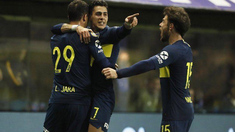 Boca fue superior que Vélez y le ganó por 3 a 0