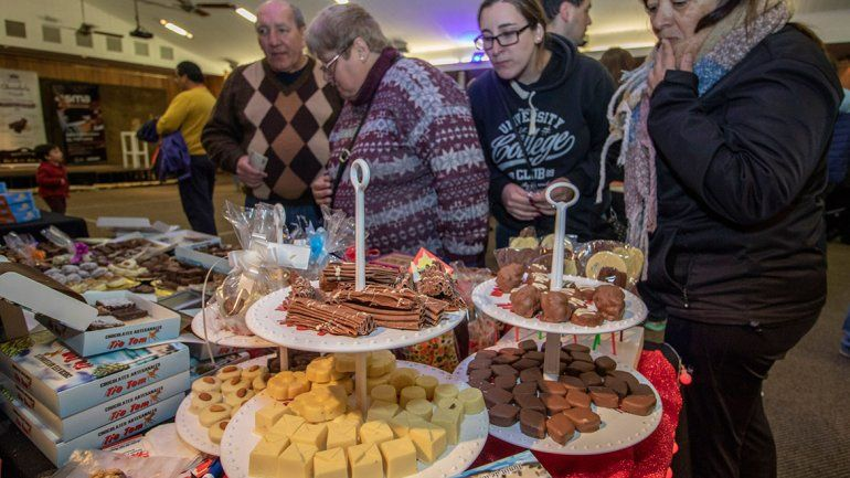 La Fiesta del Chocolate de San Martín reunió a unas 4 mil personas
