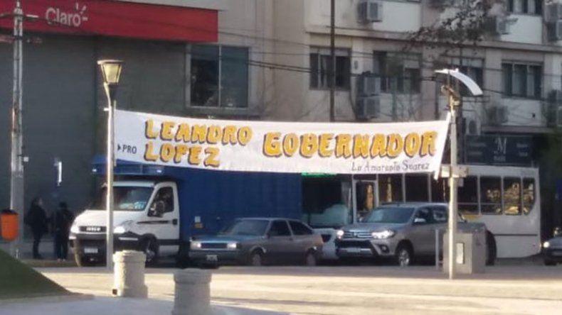 Leandro López y otro pasacalles para la polémica