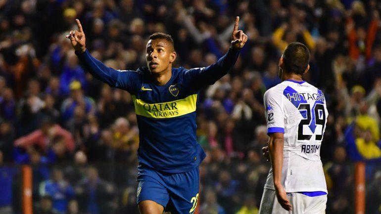 Villa le puso cifras definitivas al marcador. El colombiano suma puntos.