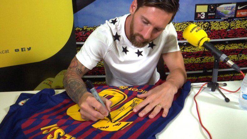 Messi sobre el Barça: Es toda mi vida, en el mejor equipo del mundo
