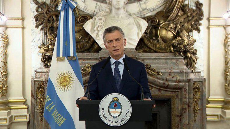 Macri reconoció la crisis: Estamos en emergencia
