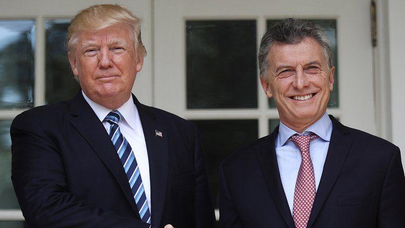 Trump llamó a Macri y le brindó un fuerte respaldo