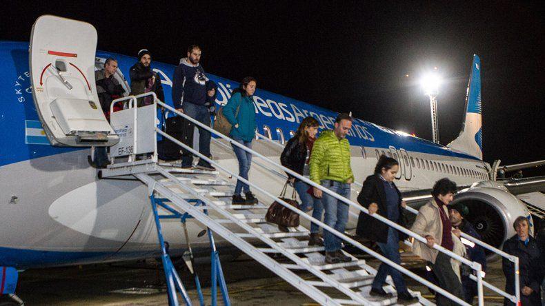 El aeropuerto de Chapelco tuvo récord de pasajeros