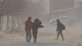 alerta por vientos: las rafagas llegarian hoy a los 80 km/h