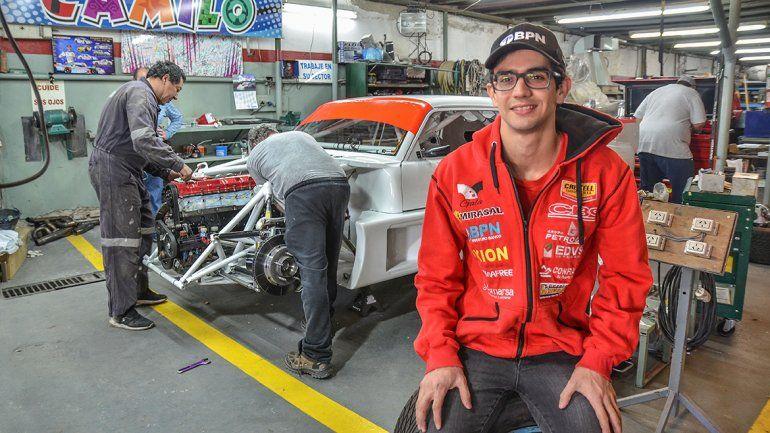 El nuevo desafío de Camilo parte a Paraná