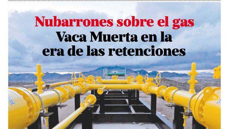 Nubarrones sobre el gas: Vaca Muerta en la era de las retenciones