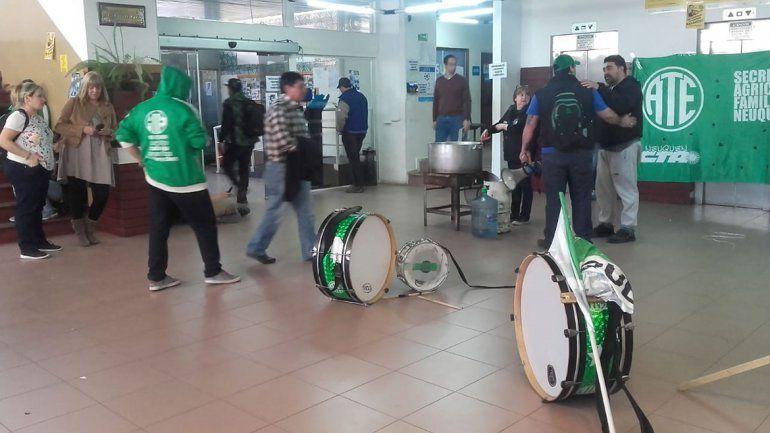 Tensión en el Municipio por una protesta de ATE