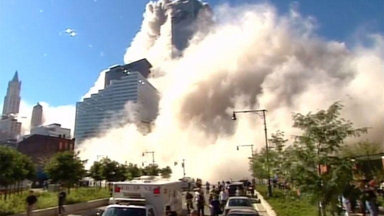 Se viralizó un video inédito e impactante del atentado a las Torres Gemelas