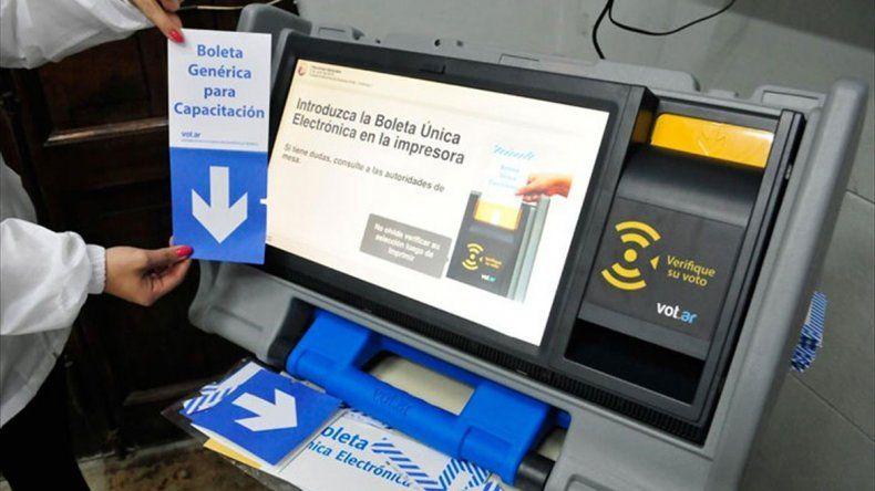 Boleta única electrónica: una empresa cobrará $171,80 por voto