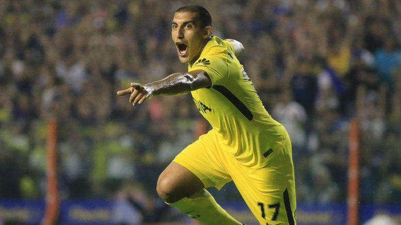 Ábila jugó su último partido por esta Copa en la ida ante Libertad.